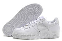 Кроссовки мужские Nike Air Force 1 white низкие