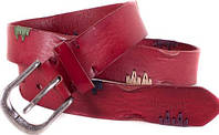 Яркий женский кожаный ремень ETERNO (ЭТЭРНО) E6245