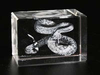 Статуэтка голограмма Змея