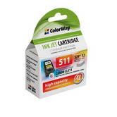 Картридж струйный CL-511 ColorWay совместимый для Canon (CW-CCL511)