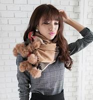 Шерстяной модный шарф