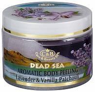 Пилинг для тела Лаванда, ваниль и пачули  Care & Beauty Line