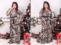 Платье женское нарядное в пол  микро-масло Размеры 48, 50, 52, 54, 56