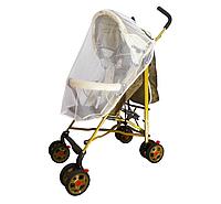 Москитная сетка для прогулочной коляски (на завязках)