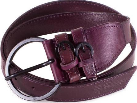 Женский необычный кожаный ремень ETERNO (ЭТЭРНО) E6504