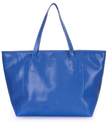 Женская сумка из искусственной кожи POOLPARTY Артикул: pool-blue-safyan синий