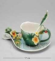 Фарфоровая Чайная пара Тропики