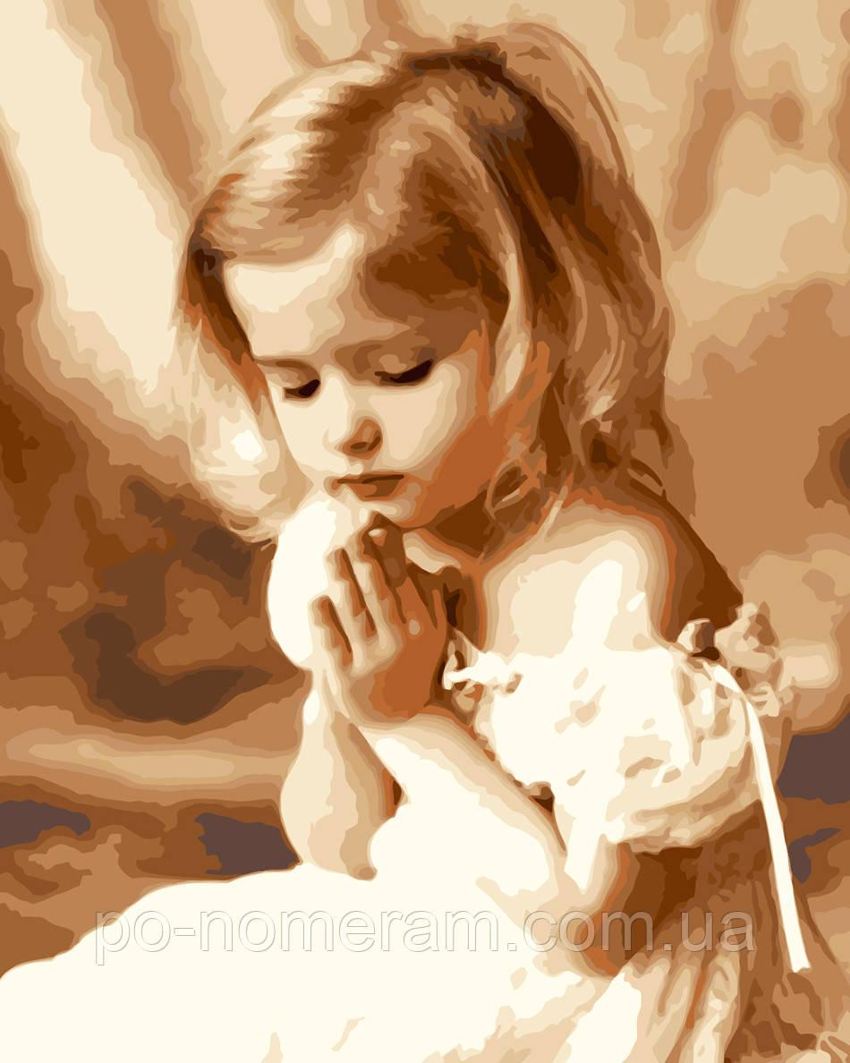 Картина рисующая ребенка
