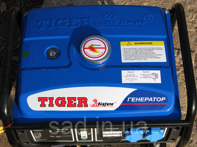 Бензиновый генератор Tiger TG-3700