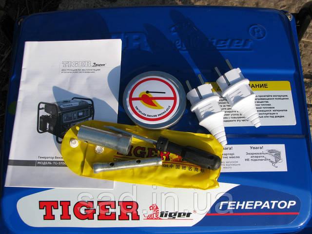 Бензогенератор Tiger TG-3700