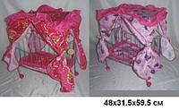 Кровать для кукол железная (металл) 9350 2 цвета