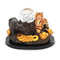 Тигр и Бык с хрустальным шаром