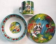 Набор детской посуды (3 предмета)