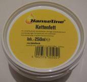 Смазка для цепи и планетарных втулок (консистентная) Hanseline Kettenfett, 250мл