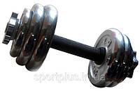 Гантели набор  хром York Fitness (Sprinter) 8кг