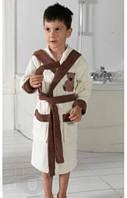 Халат махровый для мальчика с мишкой  Philippus