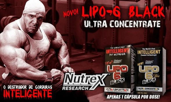 Жиросжигатель LIPO-6 Black Ultra Concentrate Nutrex 60 капсул