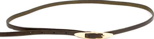 Эффектный женский кожаный узкий ремень ETERNO (ЭТЕРНО) A2005-9-green