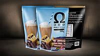Смесь сыроватковых белков + Омега-3, Омега-6, Омега-9, вкус Миндальный кекс, 1 кг