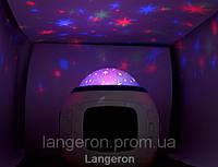 Проектор Звездного неба разноцветный с музыкой часы звездного неба колыбельные для детской