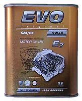 Синтетическое моторное масло 5w40 Evo 1л