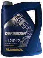 Моторное масло полусинтетическое Mannol (Манол) 10w40 Defender 5л
