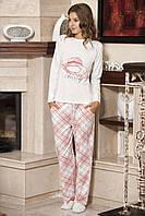 Женская пижама Shirly 5843, костюм домашний с повязкой на глаза для сна