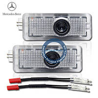 Mercedes-Benz S-class LED welcome light with LOGO