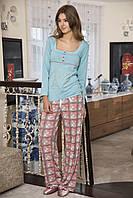 Женская пижама Shirly 5832, костюм домашний с повязкой на глаза для сна