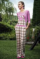 Женская пижама Shirly 5834, костюм домашний с повязкой на глаза для сна