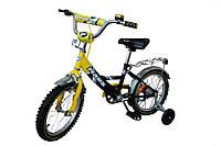 Велосипед детский 2-х колесный Марс 20 дюймов, желтый/черный