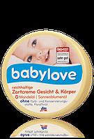 Детский крем Babylove Zartcreme (Для лица и тела)