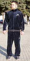 Мужской спортивный костюм из турецкого велюра