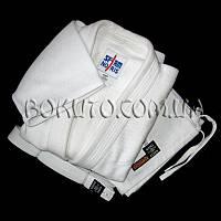 Кимоно для дзюдо белое Sfjam Noris Tiger White Excellence