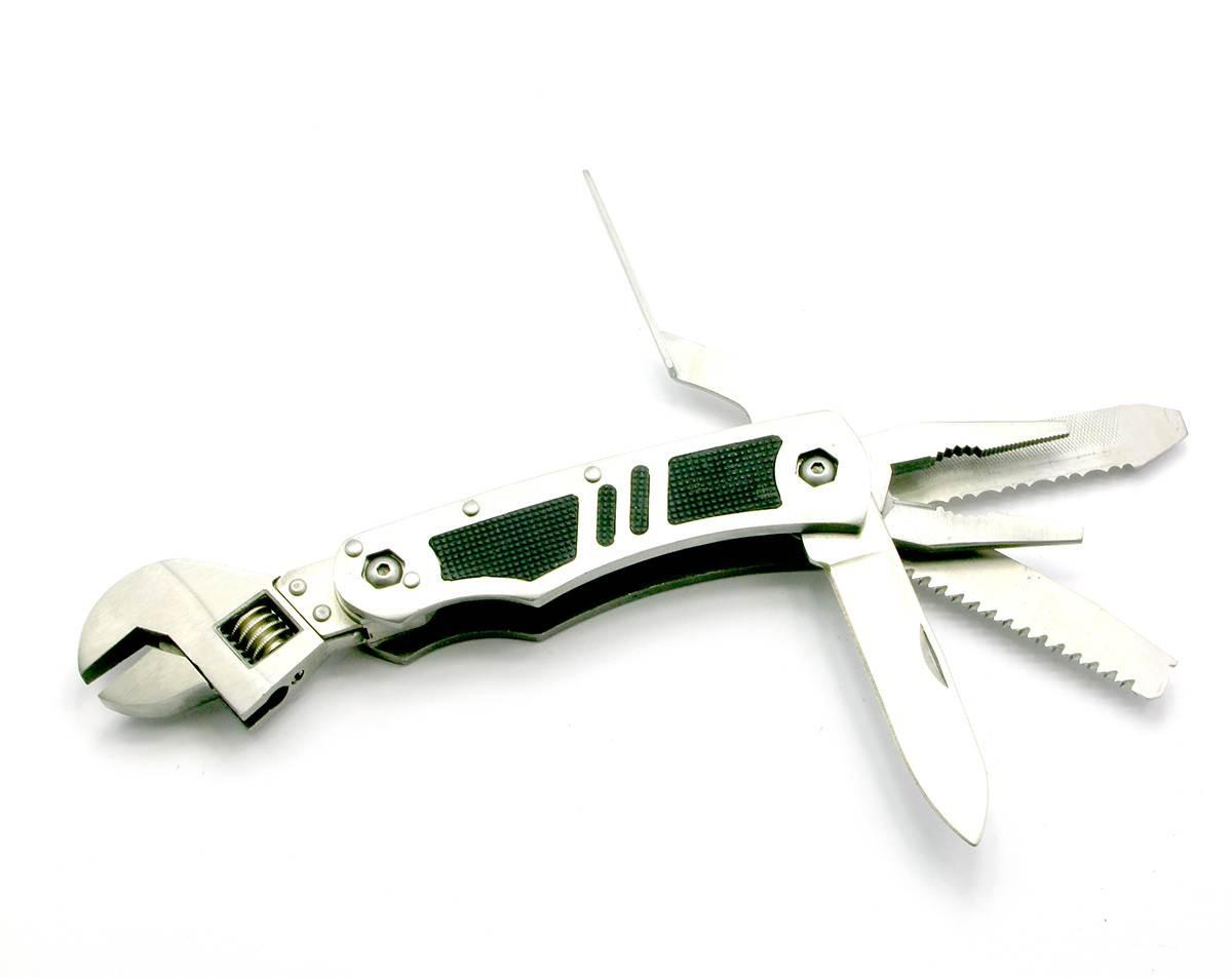 Нож большой складной 5 в 1