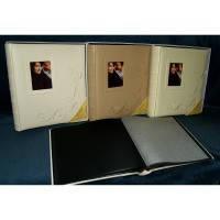 Подарочный фотоальбом POLDOM 50sheet T29x32 ANZO-L/BL w/box