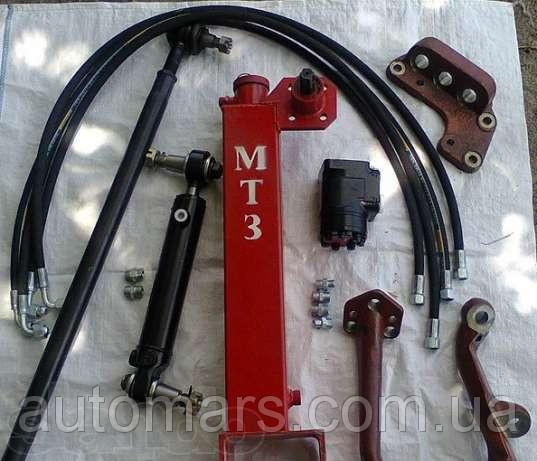 Передняя ось и рулевые тяги трактора МТЗ-80, МТЗ-82