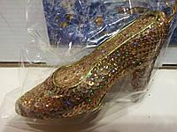 Елочное украшение-туфелька