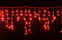 """Гирлянда светодиодная """"Бахрома"""" 100LED, черный провод (мелкие светодиоды), фото 1"""