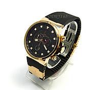 Часы наручные мужские Ulysse Nardin Maxi Marine Black Seal Chronograph