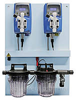 Дозирующая станция Emec pH 5л/ч/Cl 15л/г (до 300м3)