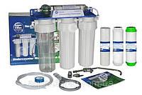 Трехступенчатая система очистки воды под кухонную мойку AQUAFILTER FP3-K1