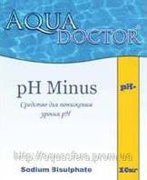 PH- AquaDoctor,  25кг,  средство для понижения уровня PH, Химия для бассейна