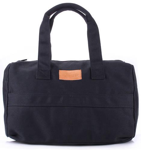 Удобная женская сумка POOLPARTY SIDEWALK HANDBAG Арт.sidewalk черная, серая