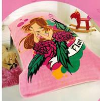 """Детский плед-покрывало ТАС Винкс """"FLORA с розами"""" 160х220"""