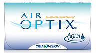 Акция!Контактные линзы на месяц  AirOptix Aqua 3+1