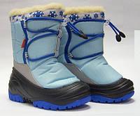 Cапоги зимние - дутики - сноубутсы детские Demar Fuzzy 4030