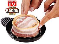 Съедобная тарелка из бекона perfect bacon bowl