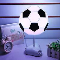 Настольный светильник-конструктор в виде футбольного мяча