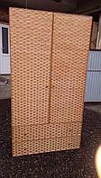 Шкаф  плетеный из лозы, фото 1